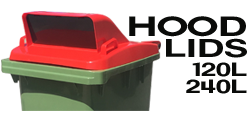 HOOD TOPS FOR WHEELIE BINS